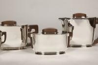 ART DECO silver tea / coffee service by Christofle and Jean Tetard