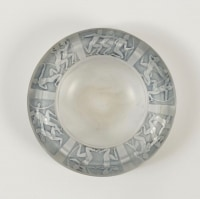 "René lalique Cendrier ""Archers"" Ashtray"