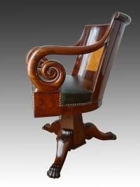 fauteuil de bureau profil