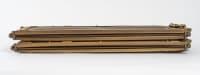 Pare-étincelle, pare-feu en bronze, 4 volets, XXème siècle