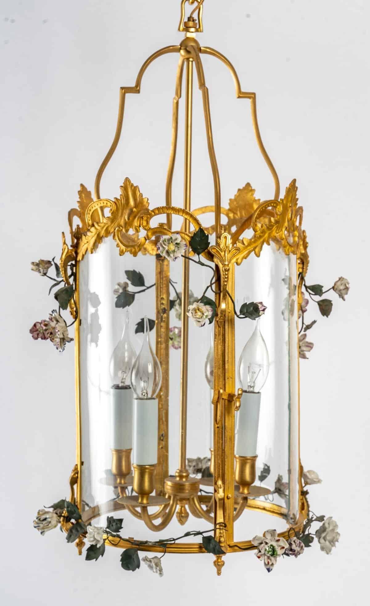 le march biron lanterne de style louis xv d cor de. Black Bedroom Furniture Sets. Home Design Ideas