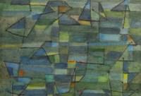 SINGIER Gustave (1909, 1984). Le port daté 1950