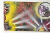 Street ART, 2014, signée au dos, très belle peinture à L'aérographe