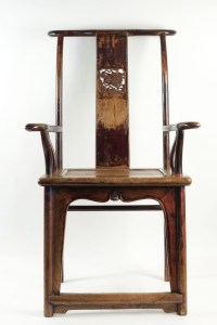 Chinese dignitaries armchair from the 19th Century.