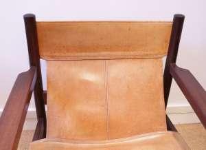 """Paire de fauteuils """"Safari"""" de Michel Arnoult - 1960's"""