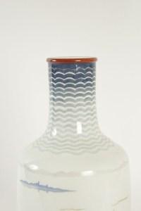 Vase en porcelaine de Sèvres - céramique Art Déco