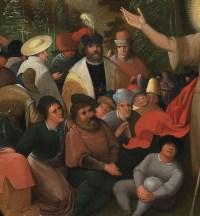 La prédication de Saint Jean-Baptiste – Atelier de Frans II Francken (1581 – 1641)