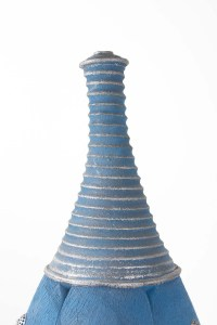 Grande bouteille par Emmanuel Peccatte (1974-2015) - céramique contemporaine