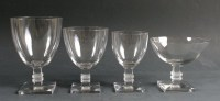 """Lalique : Service de Verre """"ARGOS"""""""