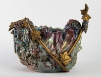 Céramique Art Nouveau en Grès