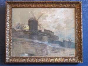 Le moulin de la Galette à Montmartre