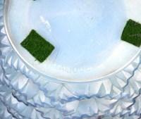 Vase « Guirlandes » verre opalescent patiné bleu de René LALIQUE