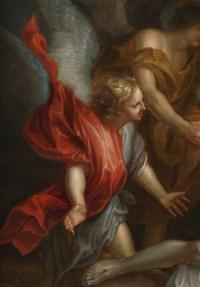 Déploration du Christ – Ecole d'Anton van Dyck 17e siècle