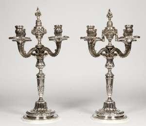 Paire de candélabre XIXème