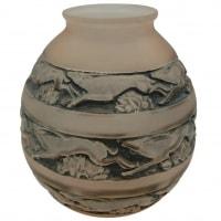 """René Lalique Vase """"Soudan"""" aux gazelles"""