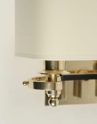 Pair of 1940s Sconces Attributed to Jules Leleu
