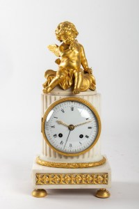 A Louis XVI period (1774 - 1793) clock.