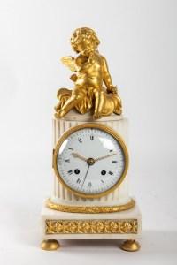 A Louis XVI period (1774 - 1793) clock.