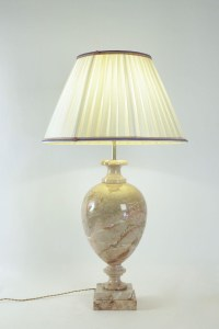 Marble lamp from the 20th Century.