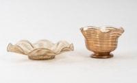 Coupes et soucoupes Salviati, XIXème