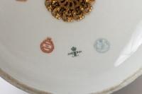 Bonbonnière en porcelaine de Sèvres 19e siècle Napoléon III