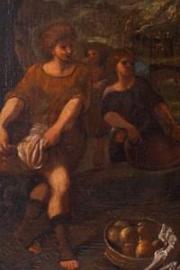 Abigail Et David. Ecole Française Du XVII ème Siècle.