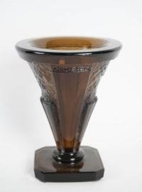 Vase de Daum 1930 Art Deco