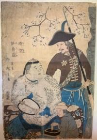 Chine et Russie (Nankin, Oroshiya) - Utagawa Hiroshige II