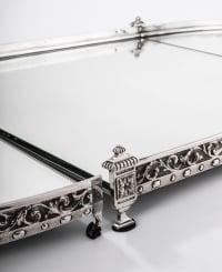 Surtout de table en trois parties 19e siècle Napoléon III