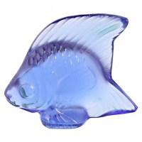 Lalique France, 1 poisson en cristal, plusieurs couleurs disponibles