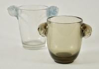 René LALIQUE « Albert », dit aussi  « Deux têtes de faucon » Vase (1925)