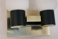Pair of 1950's Double Sconces by Maison Arlus
