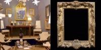 La Galerie Georges BAC  (allée 1 stand 106)  présente un objet extraordinaire, le cadre du Grand Dauphin