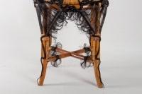 Chair Of The Artist Micki Chomicki, Rattan And Syntetic Fiber