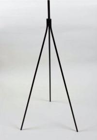 Lampadaire minimaliste en fer forgé 1950