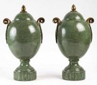 Paire de vases à décors Galuchat, 1940