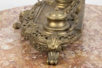 A French Late 19th Century Louis XV st.  Ormulu Inkwell.