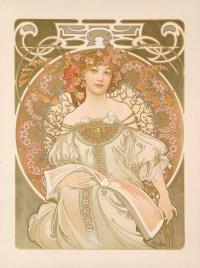 Alphonse Mucha - Reverie - 1897