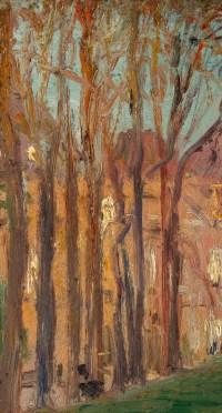 Peinture, Paul Seguin-Bertault (1869 - 1864), Le sénat, le Luxembourg