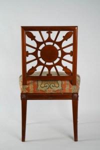 Suite de quatre chaises basses d'époque Louis XVI