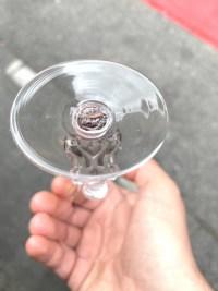 """Service """"Strasbourg"""" verre blanc patiné gris de René LALIQUE - 18 pièces"""