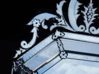 1880/1900 Miroir St L XIV a Pareclose Tain Argentique 114 X 72