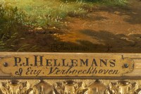 Pierre Jean HELLEMANS & Eugène, Joseph VERBOECKHOVEN