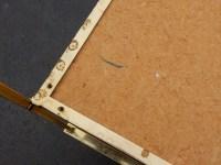 1950/70′ Paire de Bouts de Canapés Maison Baguès Laiton Pieds Griffes
