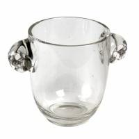 """Vase """"Albert"""" verre blanc de René LALIQUE"""