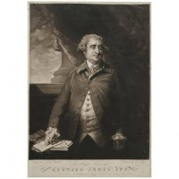 Gravure, Angleterre, 19ème siècle, Gravée par John Jones, Portrait de James Fose d'après Sir Joshua Reynolds, 1792
