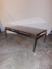 Guy Lefevre pour Maison Jansen grande table basse 1970