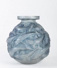 René  LALIQUE  : 'SALMONIDÉS' Vase