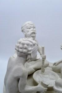 Biscuit attribué à Louis Cretté - début XXème