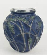 """René Lalique Vase """"Sauterelles"""""""